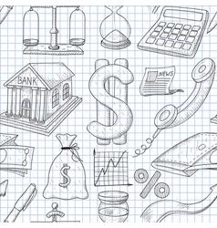 economy vector image