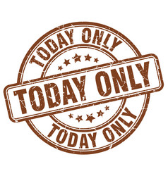 Today only stamp vector