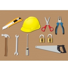Home tools renovation work construction vector