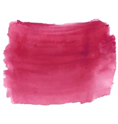 Dark deep red watercolor vector image vector image