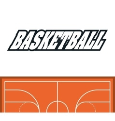 League of basketball sport design vector