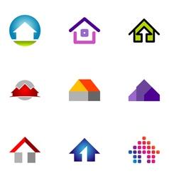 Logo design elements set 55 vector