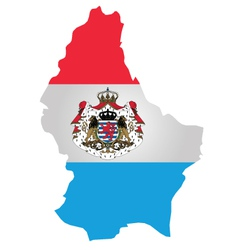 Luxembourg Flag vector image