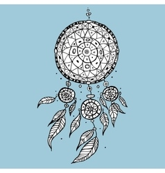 Dream Catcher Decorative vector image