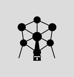 Atomium Brussel vector image