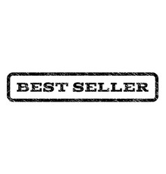 best seller watermark stamp vector image