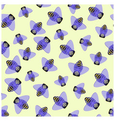 fly background vector image