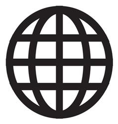 Globe Icon vector image