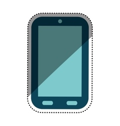 Mobile smartphone technology vector