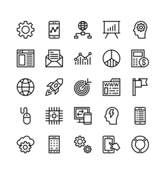 Digital marketing icons 1 vector