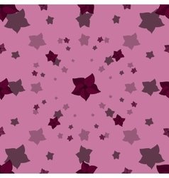Cartoon seamless pattern with blossoms vector