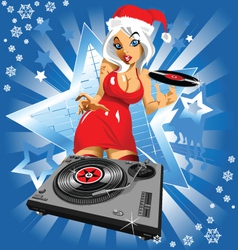 christmas music vector image vector image