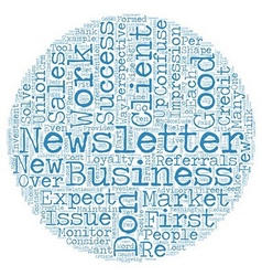 Most newsletters don t work part one success and vector
