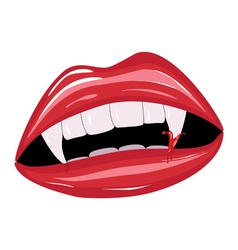 Vampire mouth2 vector