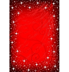 Image of red decoration vector