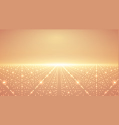Abstract infinity background glowing vector