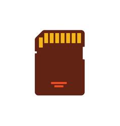 Sd card compact media card sdcard for cameras vector