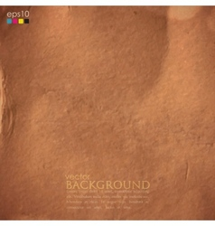 Abstract background with cardboard texture vector