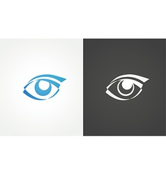 Eye logo conception vector image