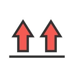 Upwards vector