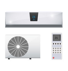 Air conditioner system vector
