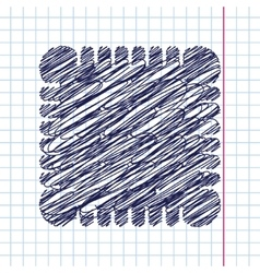 biscuit icon Eps10 vector image vector image