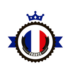 France flag classic culture vector