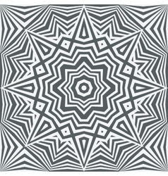 Monochrome abstract geometric background vector