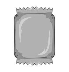 Packaging for chocolate icon monochrome style vector image vector image