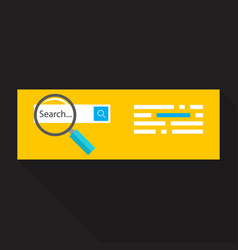 seo concept vector image
