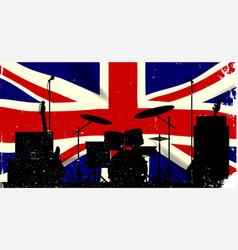 uk rock band vector image vector image