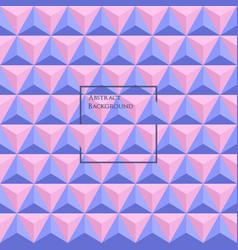 3d rose quartz and serenity colored vector