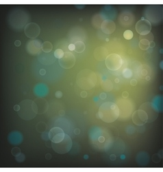 Bokeh green background vector
