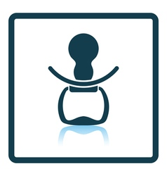 Soother icon vector