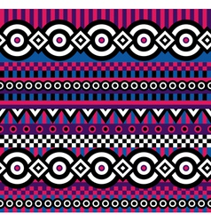 Vivid pop art pattern vector