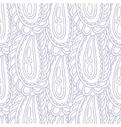 Hand drawn seamless pattern in pastel color vector
