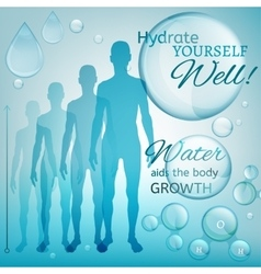 Water body growth vector