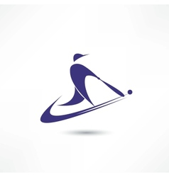 Amerikan futtbol vector image vector image
