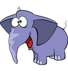 Elephant calf cartoon vector