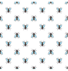 fly seamless pattern for textile design wallpaper vector image vector image