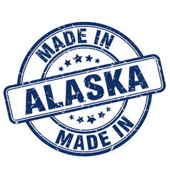 Made in alaska vector