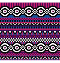 Vivid pop art pattern vector