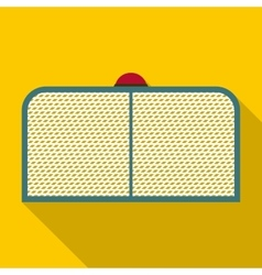 Hockey gate icon flat style vector
