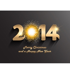 Christmas and happy new year background with a vector