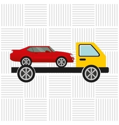 Insurance vehicle design vector