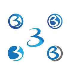 B letter logo icon design template vector