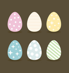 easter egg6 vector image vector image