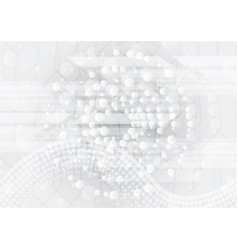 Grey abstract modern background design vector