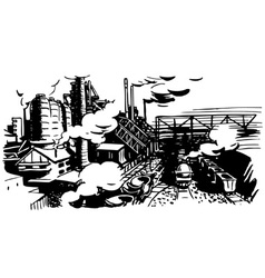industrial vector image