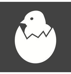 Hatched egg vector